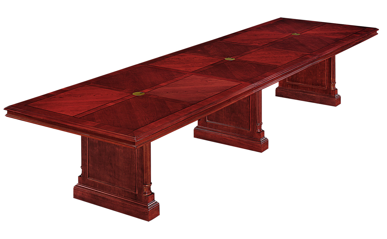 14-Ft Rectangular Expandable Conference Table | Keswick Collection