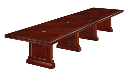 16-Ft Rectangular Expandable Conference Table | Keswick Collection