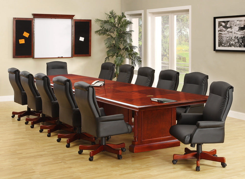 18-Ft Rectangular Expandable Conference Table | Keswick Collection