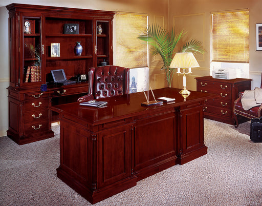 Suite - Desk, Credenza, Bookcases, Overhead Storage | Keswick Collection