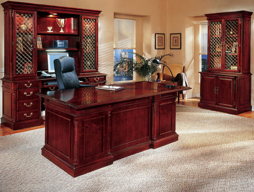 Suite - Desk, Credenza, Cabinet, Overhead Storage | Keswick Collection