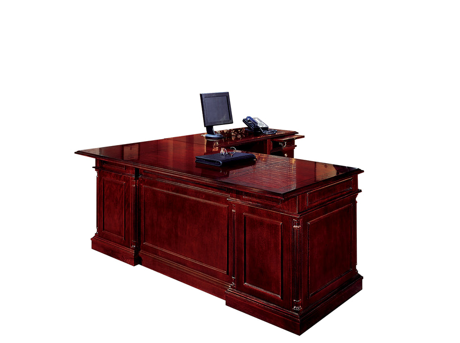"Executive L Desk - 72"" x 84"" 