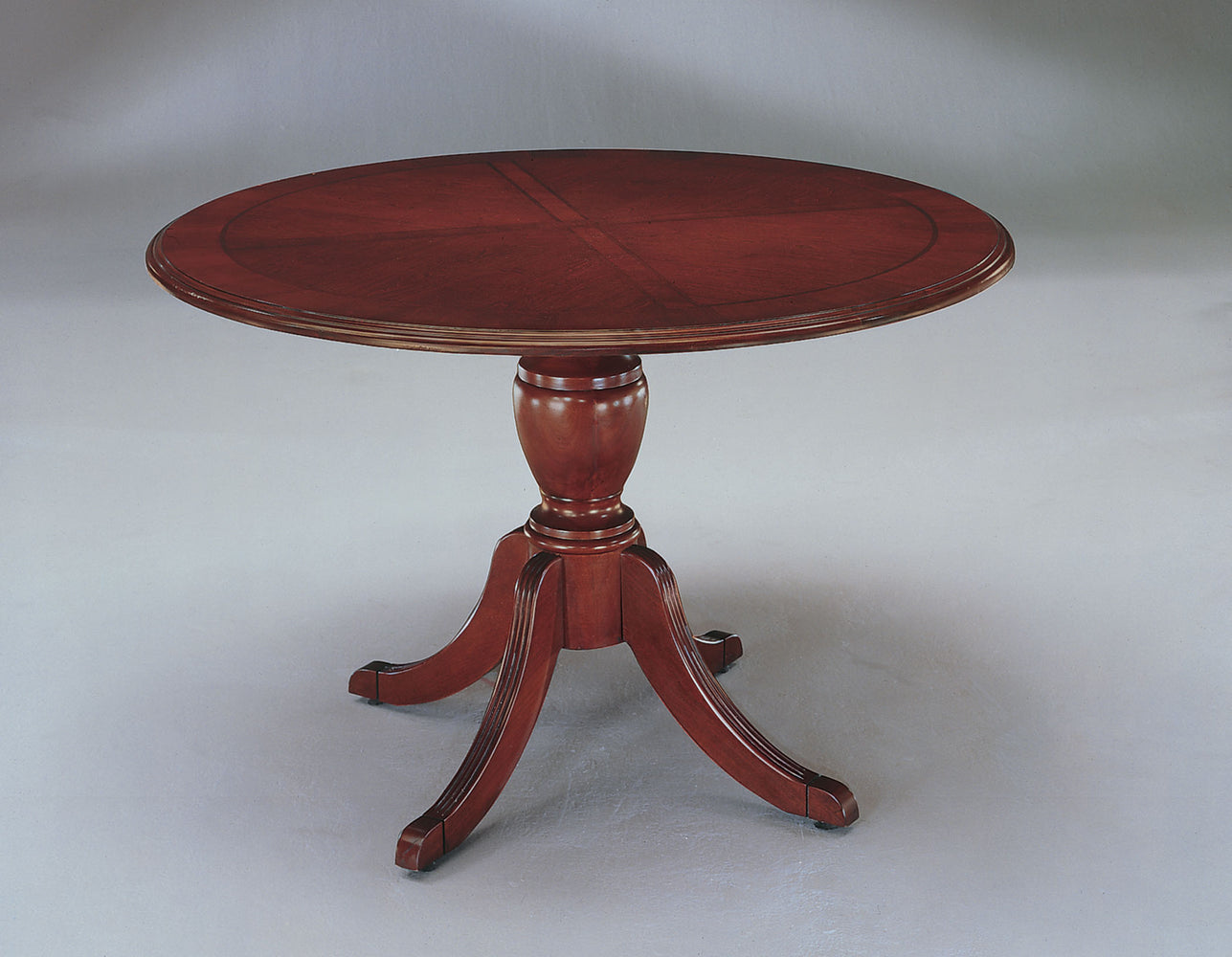 "42"" Round Queen Anne Conference Table 