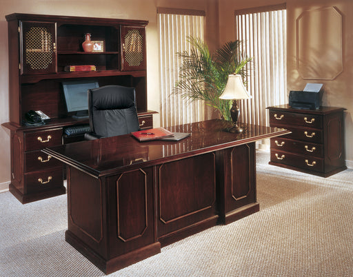 Governor's Suite - Desk, Credenza, Overhead Storage, Lateral File | Governor's Collection