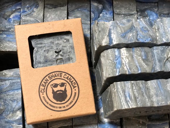Men's Grooming, Cleanshave Canada, Clean Shave Canada, Clean Shave, artisan soap, handmade soap, charcoal soap, relax soap, beer soap