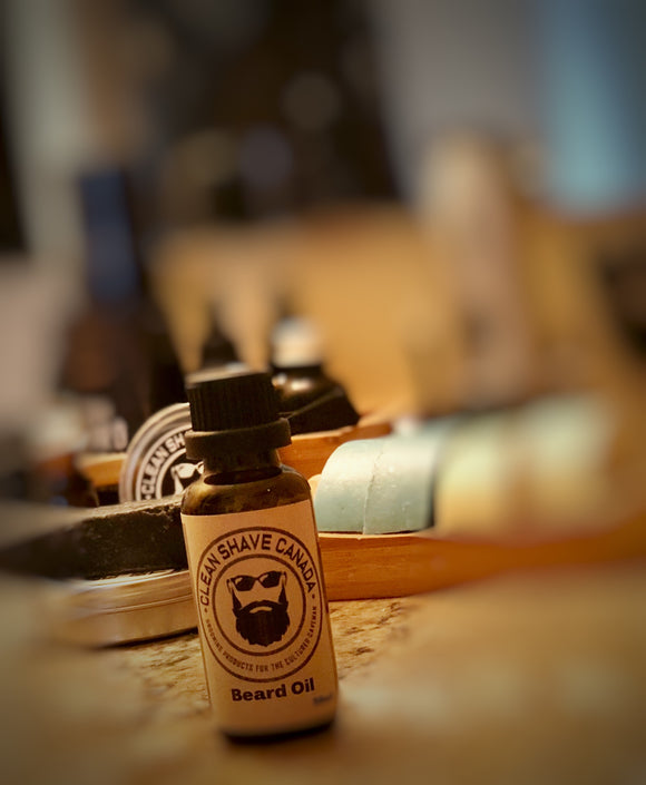 clean shave canada, beard oil, mens grooming, beard grooming, cedar and citrus
