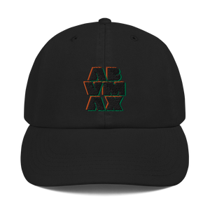 ABVMAX 3D Retro X Champion Dad Cap
