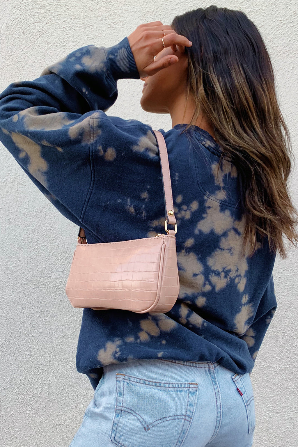 On Sunset Cream Shoulder Bag