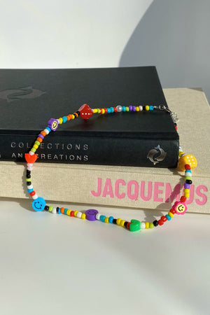 Over the Rainbow Beaded Necklace