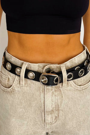 Put the Edge On Grommet Belts