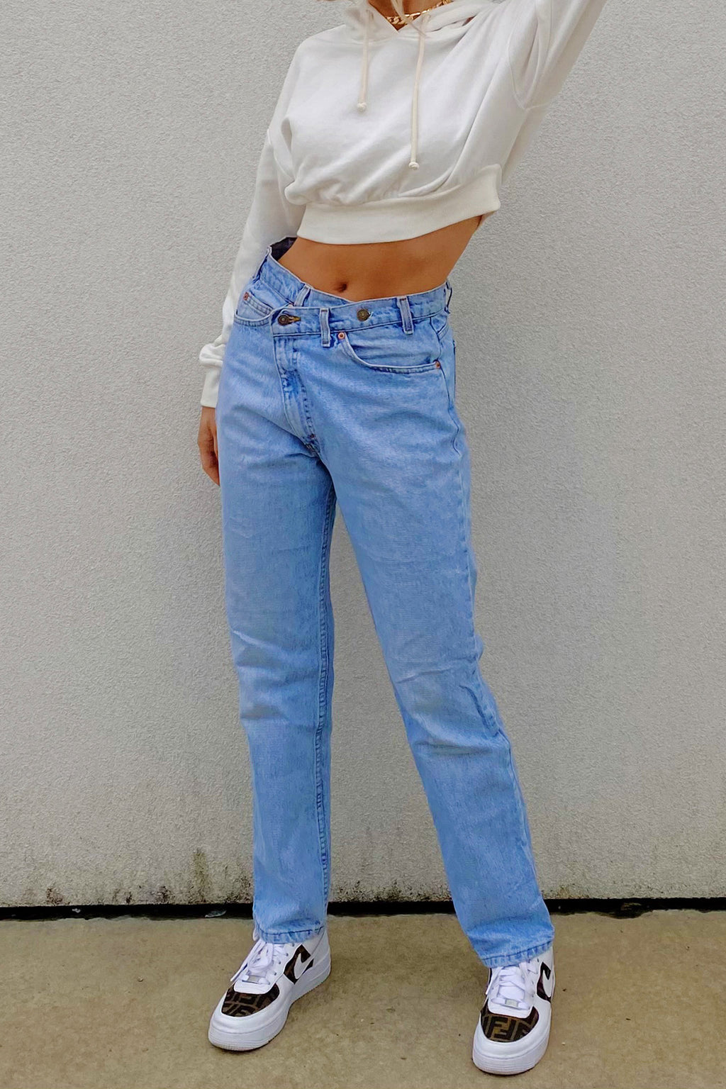 COMING SOON: Vintage Levi High Waisted Crossover Jeans