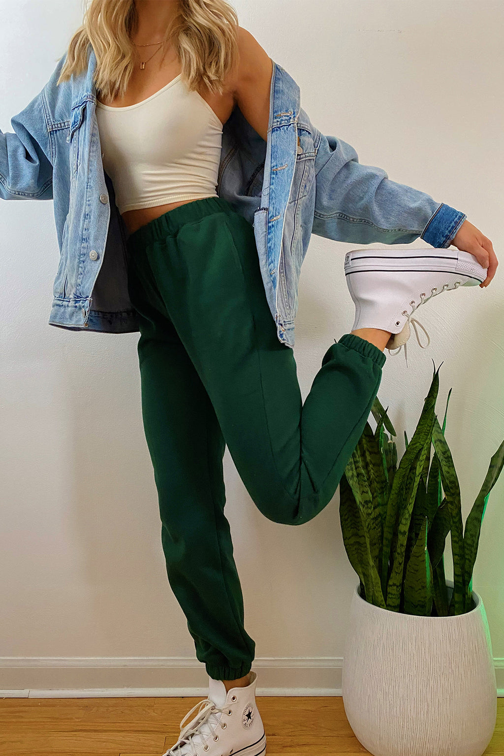 Street Style Forest Sweatpants