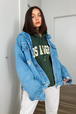 LA Native Forest Oversized Hoodie
