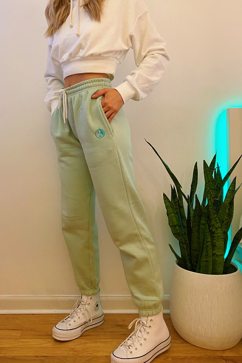Chill Out Mint Yin Yang Sweatpants
