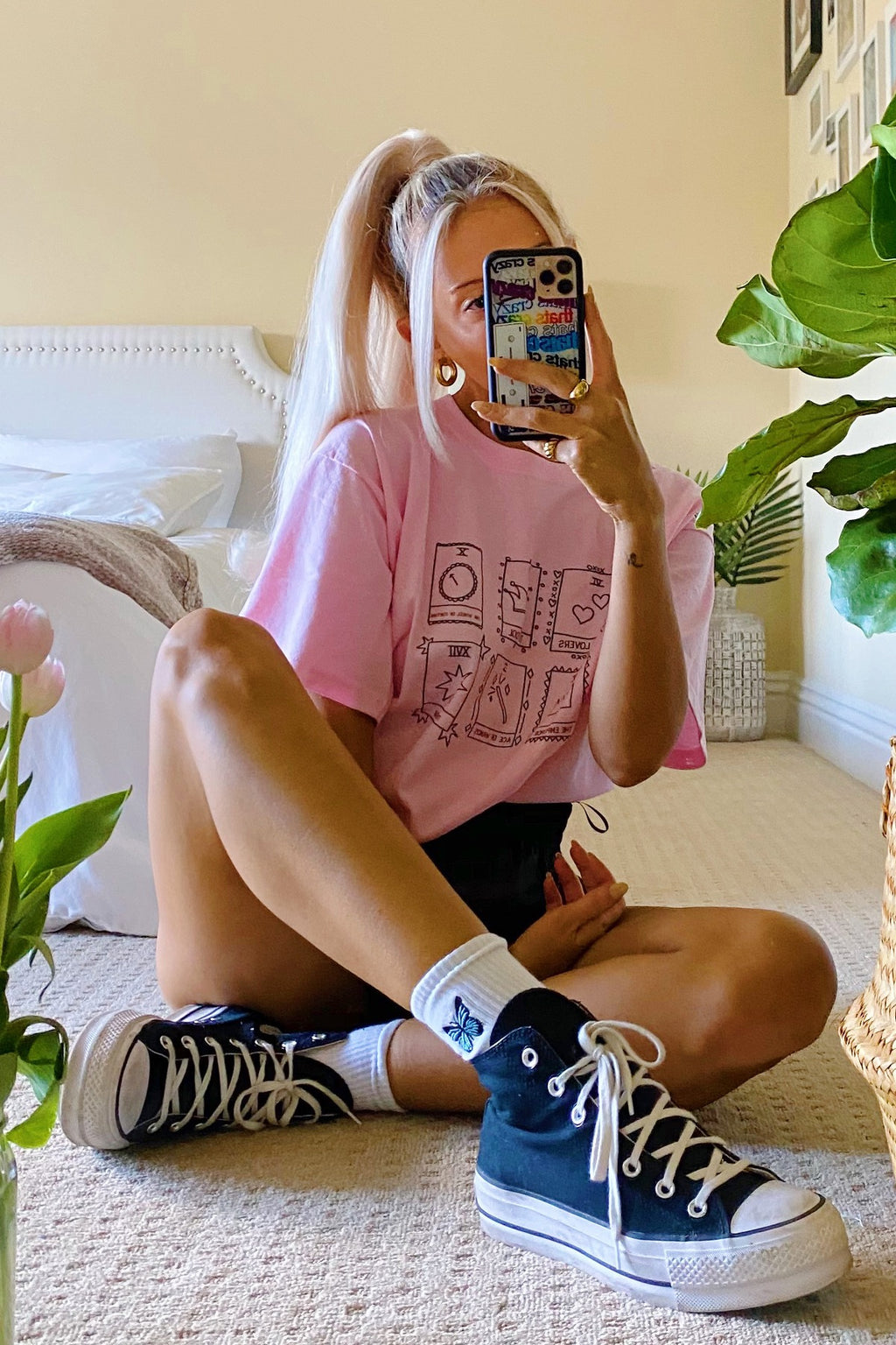In The Cards Pink Tarot Tee