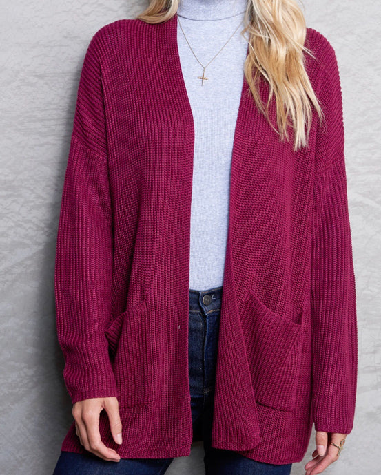 Berry Cardigan