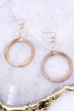 Load image into Gallery viewer, Marbled Acetate Earrings