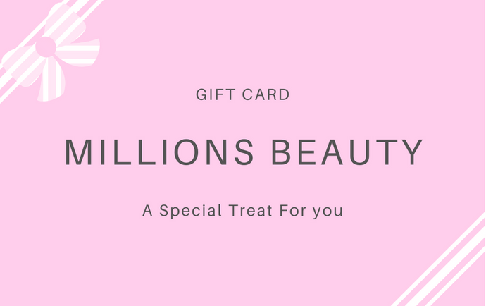Gift Card - Millions Beauty