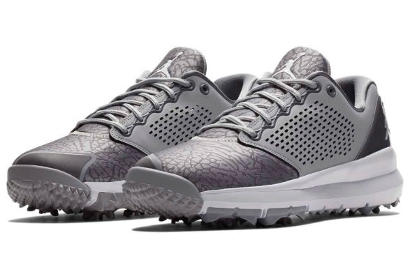 36793c7ad79794 Nike Men s Air Jordan Trainer ST G Golf Shoes Wolf Grey Gun Smoke White