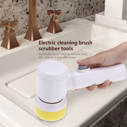 Image of Turbo Scrub 360 Electric Cleaning Brush for Bathroom & Kitchen