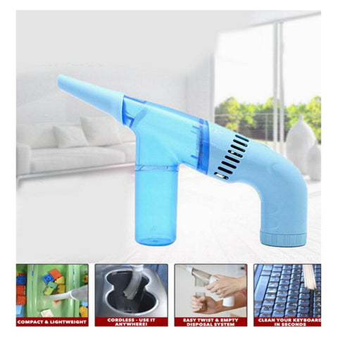 Image of Portable Duster Brush Cleaner Vacuum