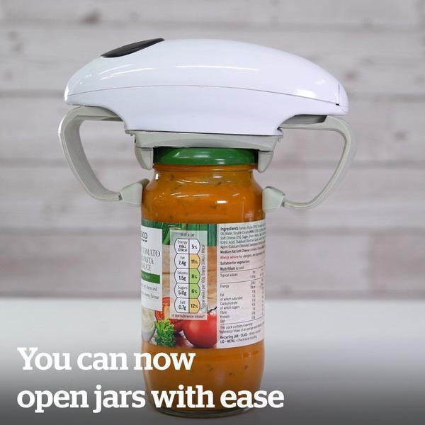Automatic One Touch Jar Opener