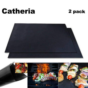 Baking Mats & Liners - 2 Pcs Catheria Non-stick Grill Mat