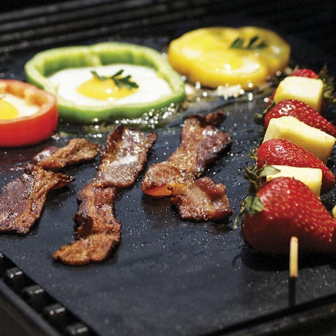 Image of Baking Mats & Liners - 2 Pcs Catheria Non-stick Grill Mat