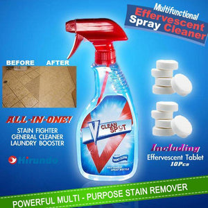 Cleaning - Multifunctional Effervescent Spray Cleaner, 1 Set