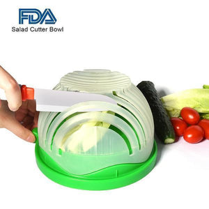 Catheria Salad Cutter Bowl
