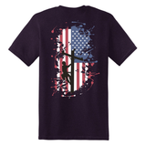 This USA Flag shirt is a great representation of the American Lineman. The LineCrew Shield is placed on the left chest and USA Flag is on the back.