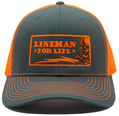 Lineman for Life - Orange - LineCrew