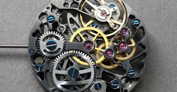 How mechanical movement pocket watches work