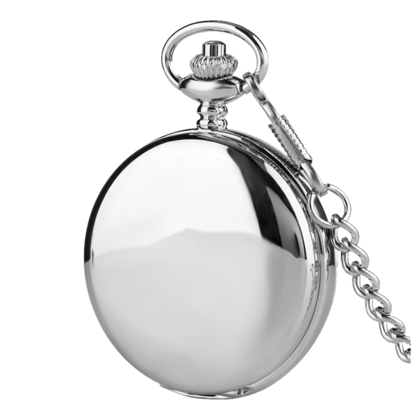 Mechanical Full Hunter Roman Pocket Watch