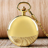 Royal Gold Double Hunter Mechanical Pocket Watch