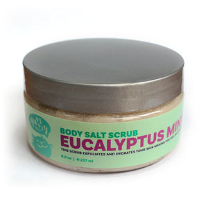 Eucalyptus Mint Body Salt Scrub