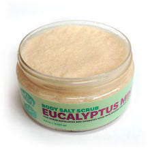 Load image into Gallery viewer, Eucalyptus Mint Body Salt Scrub