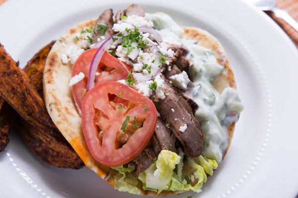 Greek Steak Gyro