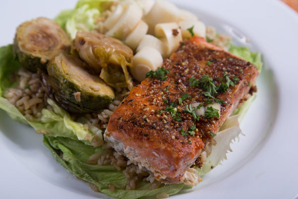 Maple Salmon Bowl