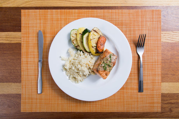 Maple Mustard Salmon