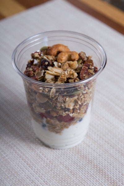 .Greek Yogurt Parfait