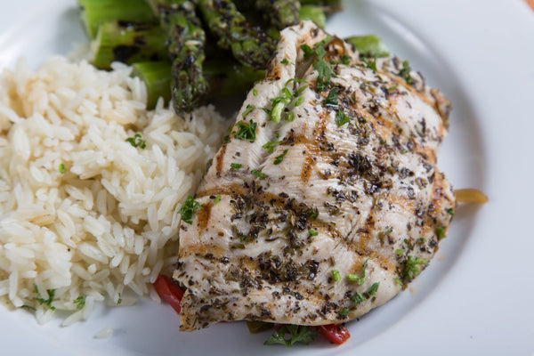 Herb Stuffed Chicken Breast