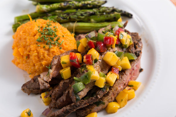 Mango Jerk Steak