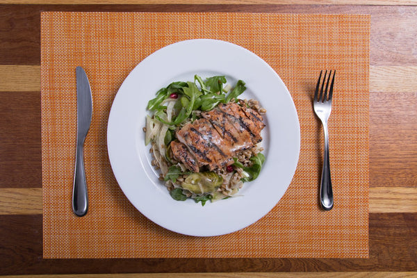 Farro Superfuel Chicken Salad