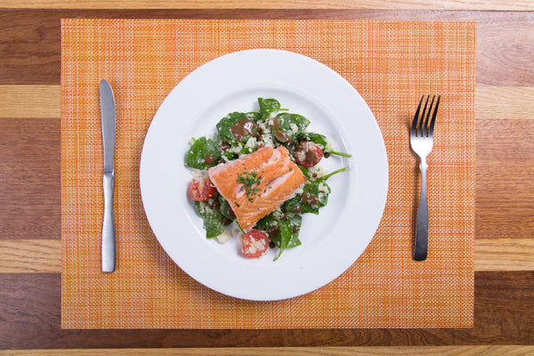 Roja's House Seared Salmon Salad
