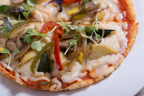Roasted Veggie Cauli Pizza