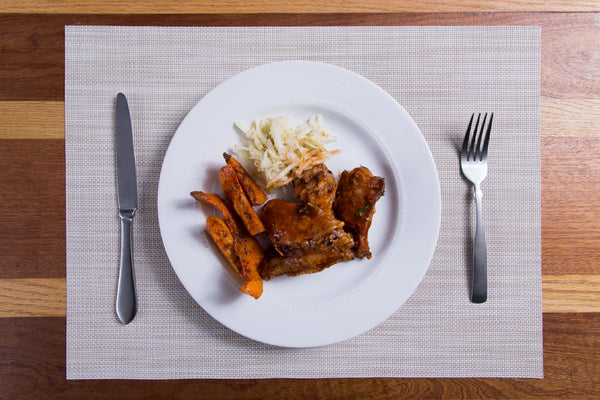 Tamarind Wings & Butternut Squash Fries