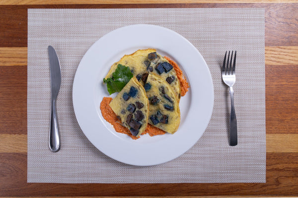 Purple Potato Frittata