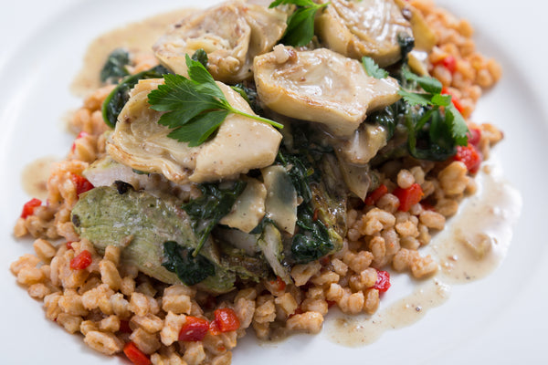 Creamy Artichoke & Spinach Chicken