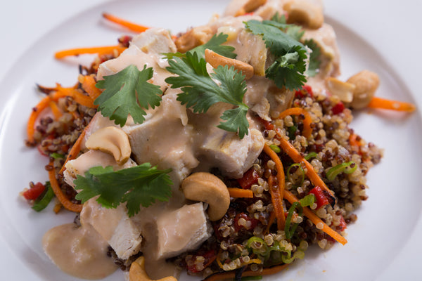 Thai Cashew Chicken Chop